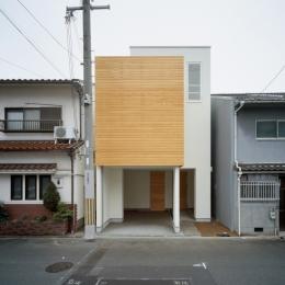 House F (北側外観)