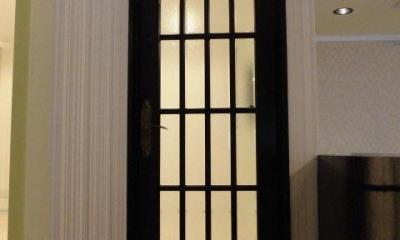 S様邸 (アーチ型のリビングドア)