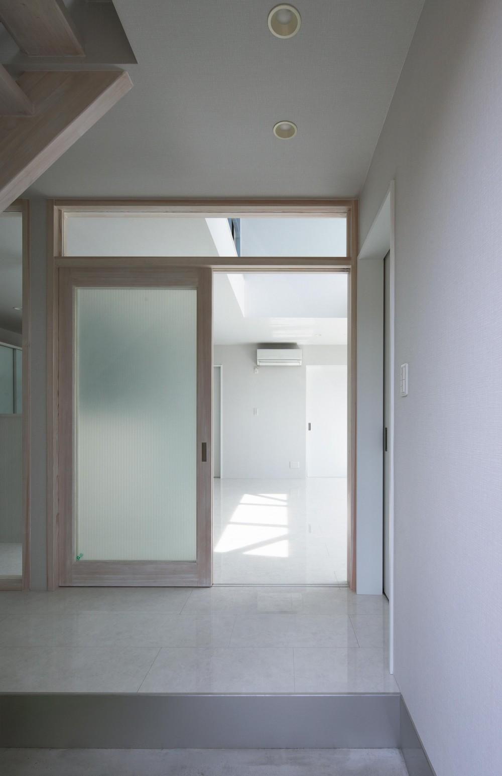 大田原の住宅 (玄関)