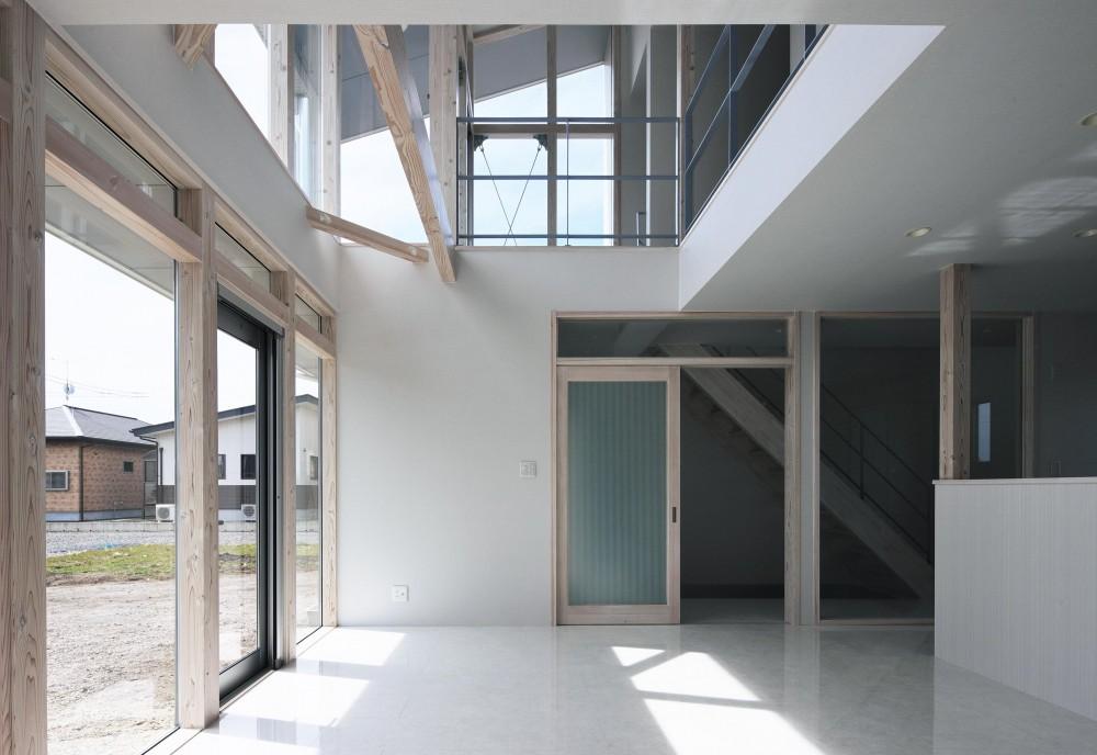 大田原の住宅 (リビング)