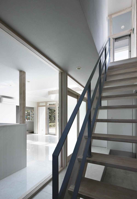 大田原の住宅 (階段)