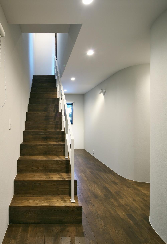 今市の住宅 (階段)