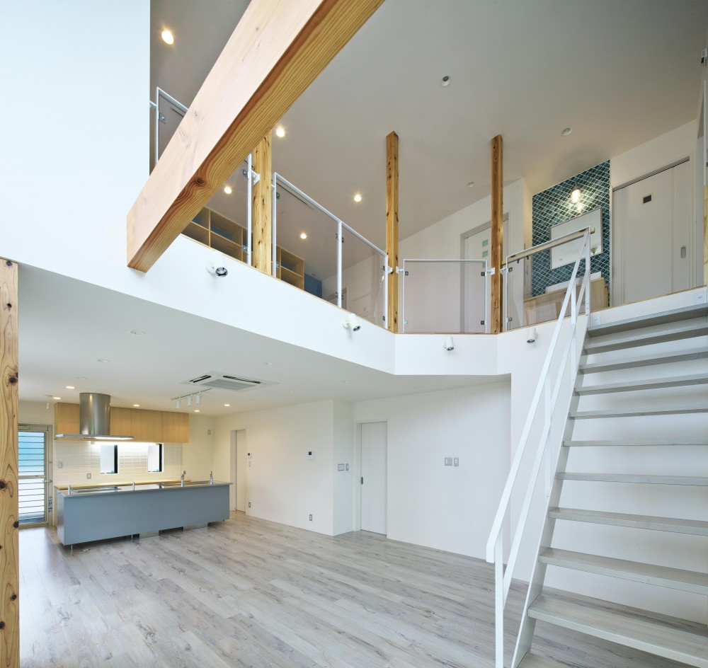 熊倉の住宅 (階段)