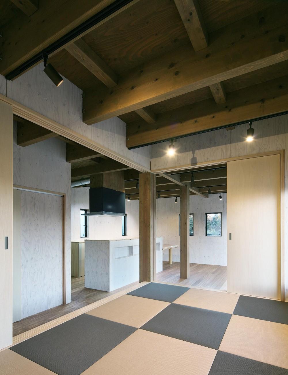 岡本の住宅 (和室)