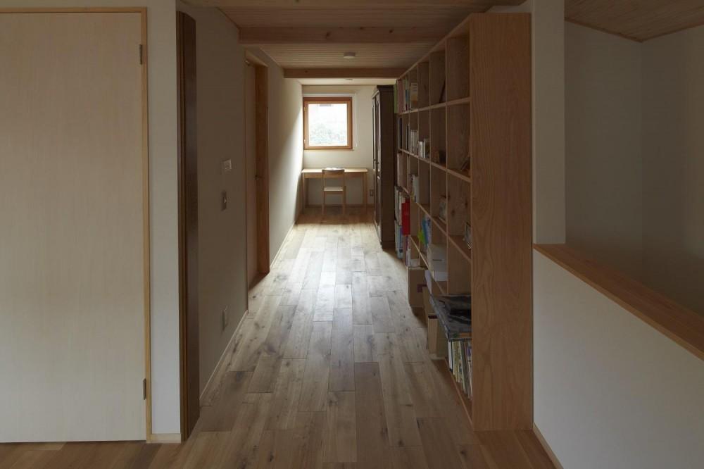香住ケ丘の家 (廊下)