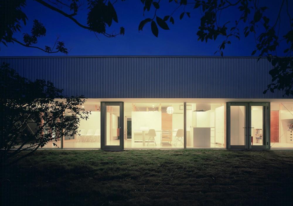 伊集院の住宅 II (外観夜景2)