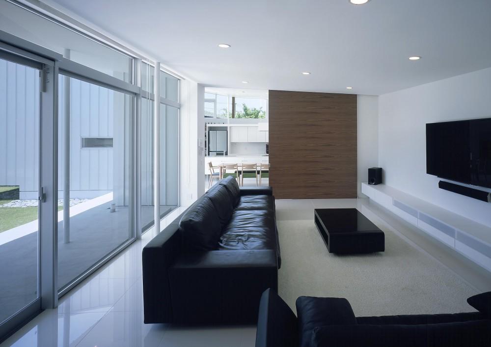 薩摩川内の住宅 (リビング2)