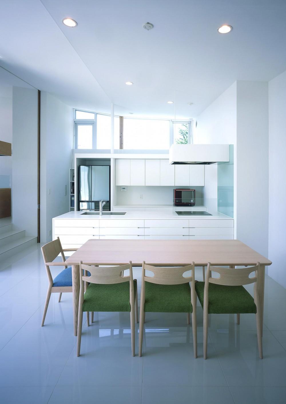 薩摩川内の住宅 (ダイニング・キッチン1)