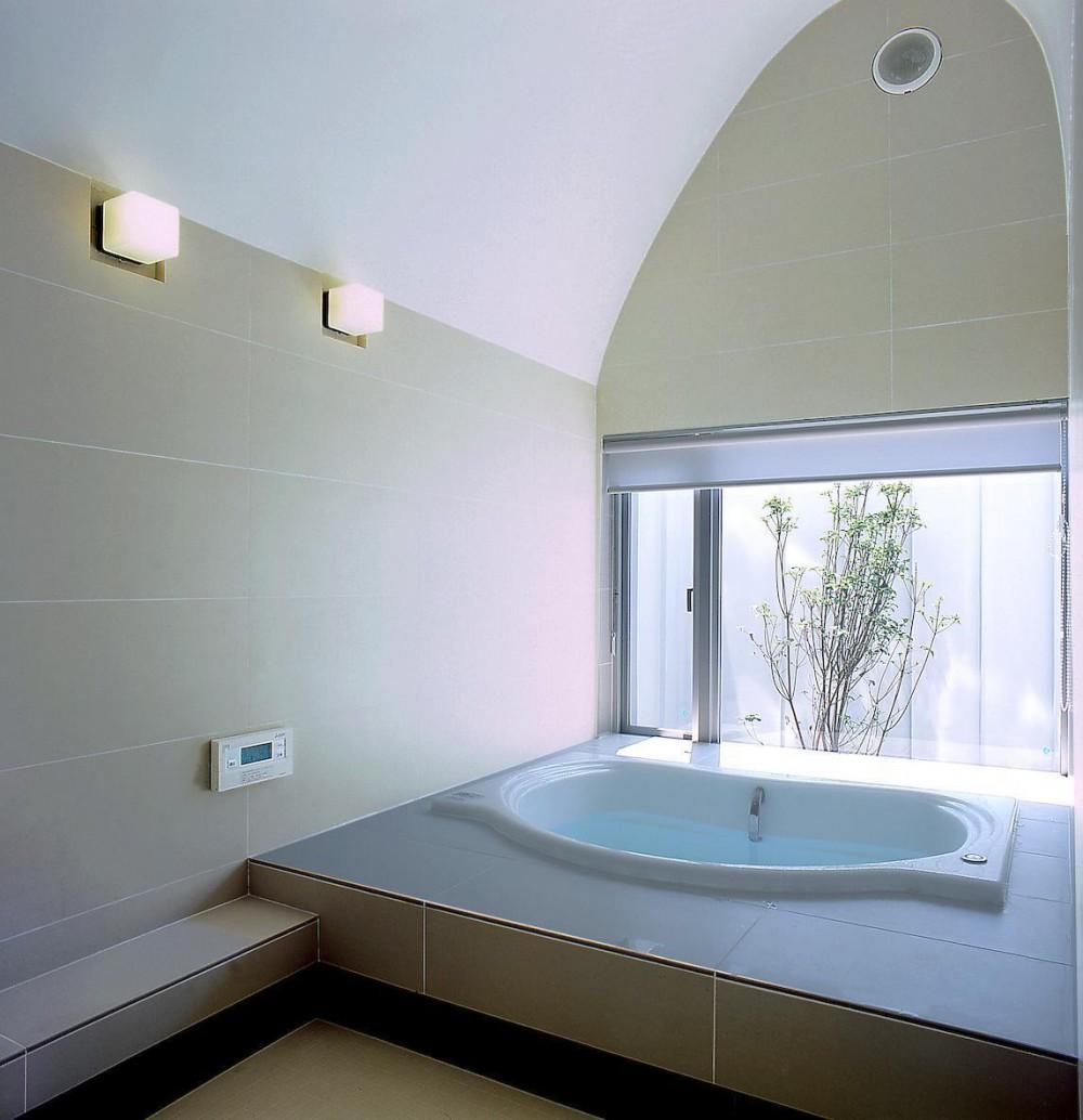薩摩川内の住宅 (浴室)