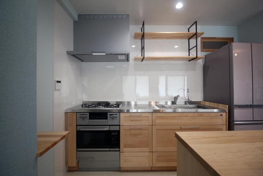 キッチンを楽しむリノベーション ~トラディショナル・ネオボタニカル~ (キッチン)