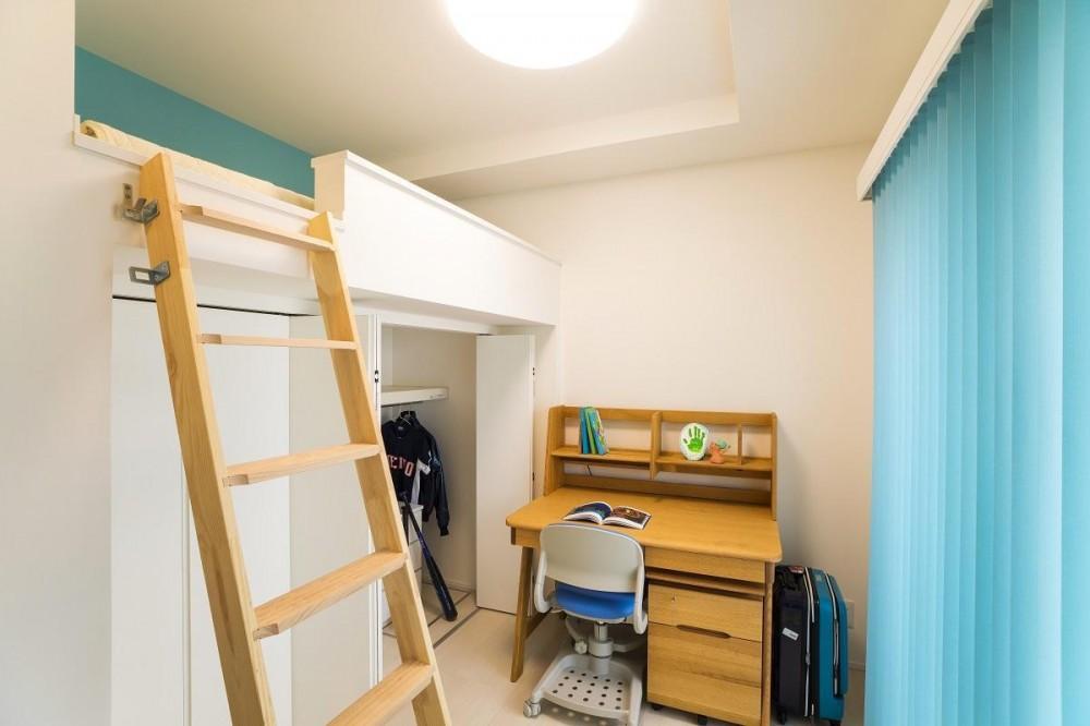 光の贅に抱かれる邸宅 (childroom2)