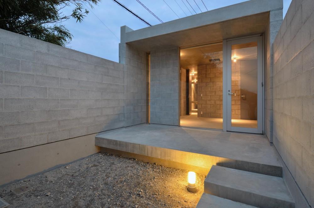 飯牟礼の住宅 (カフェ(将来)中庭)