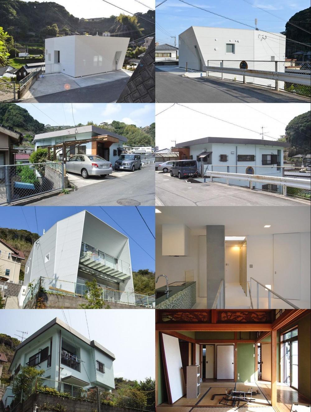 ビフォーアフター (上竜尾町の住宅(リノベーション))