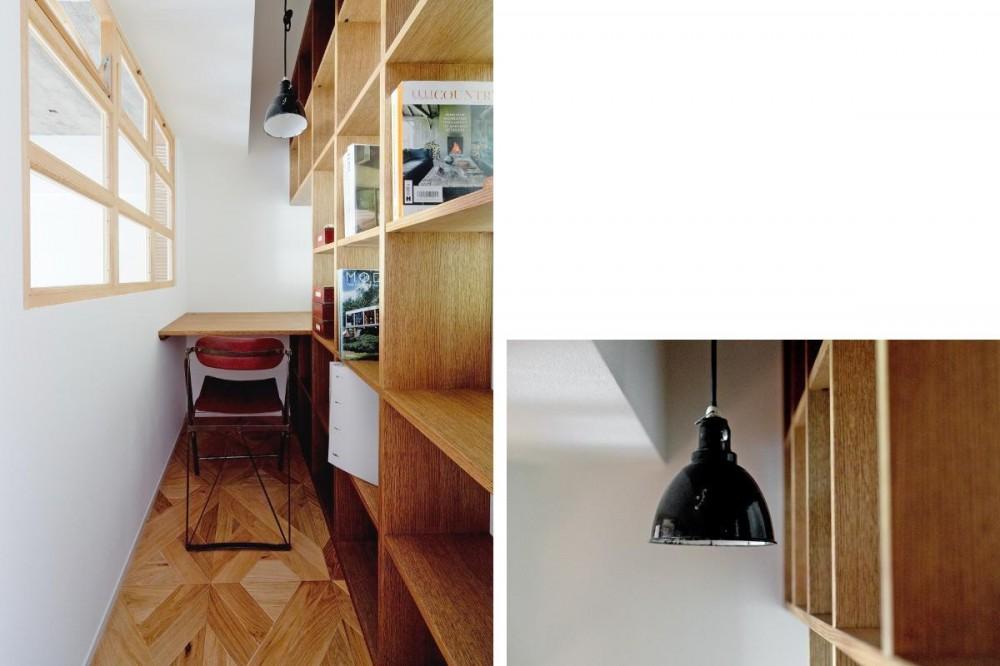 DENスペース (兵庫県Y邸 -小さな書斎があるレモンの木を望む家-)
