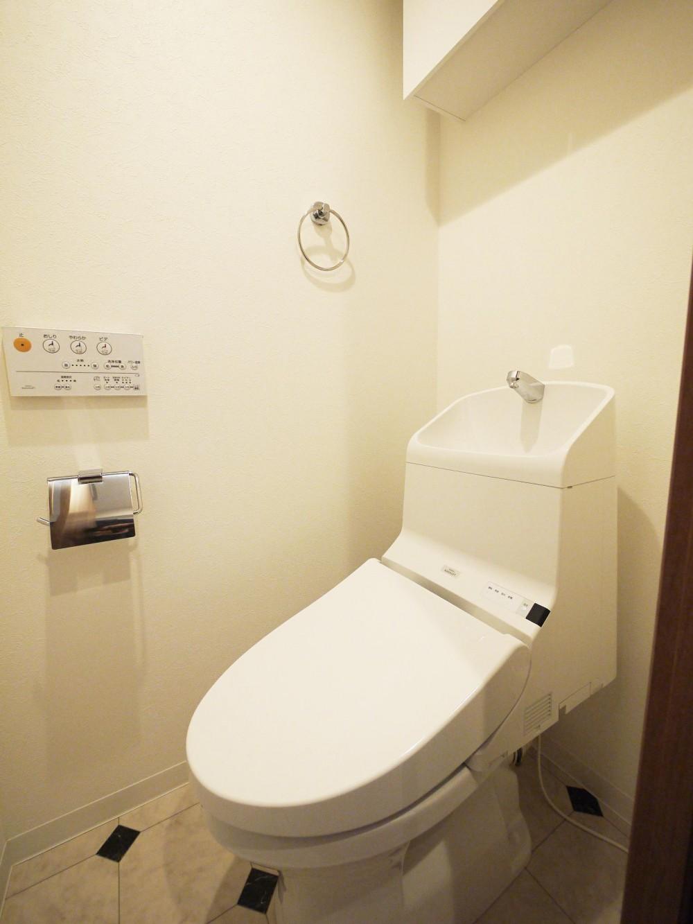 最新1LDKにフルモデルチェンジ (トイレ)