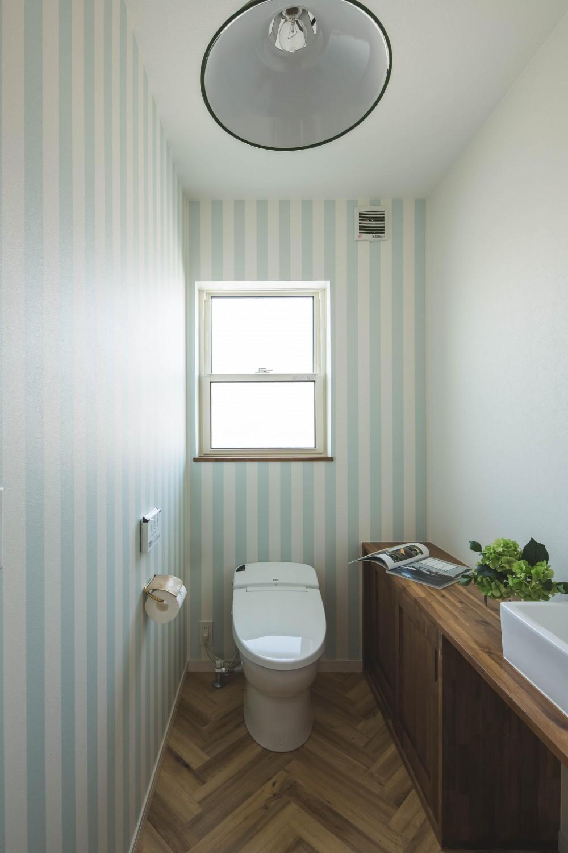 カバードポーチのある家 (トイレ)