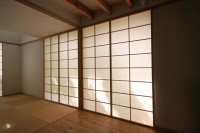 和室-CLOSE (関屋大川前の家)