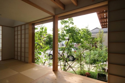 和室-OPEN (関屋大川前の家)