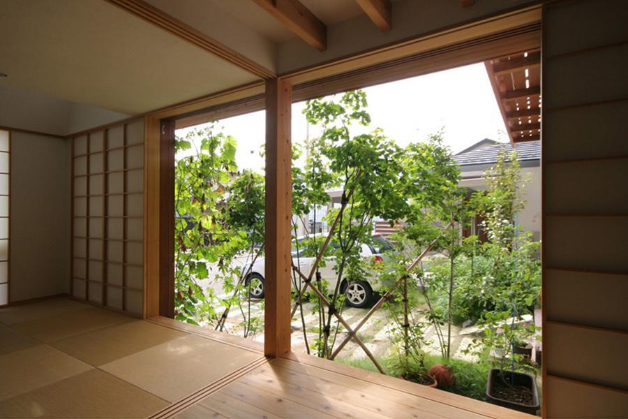 関屋大川前の家 (和室-OPEN)