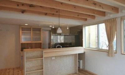 関屋大川前の家 (ダイニングキッチン)