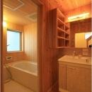 関屋大川前の家の写真 洗面浴室