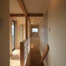 関屋大川前の家の写真 2階廊下