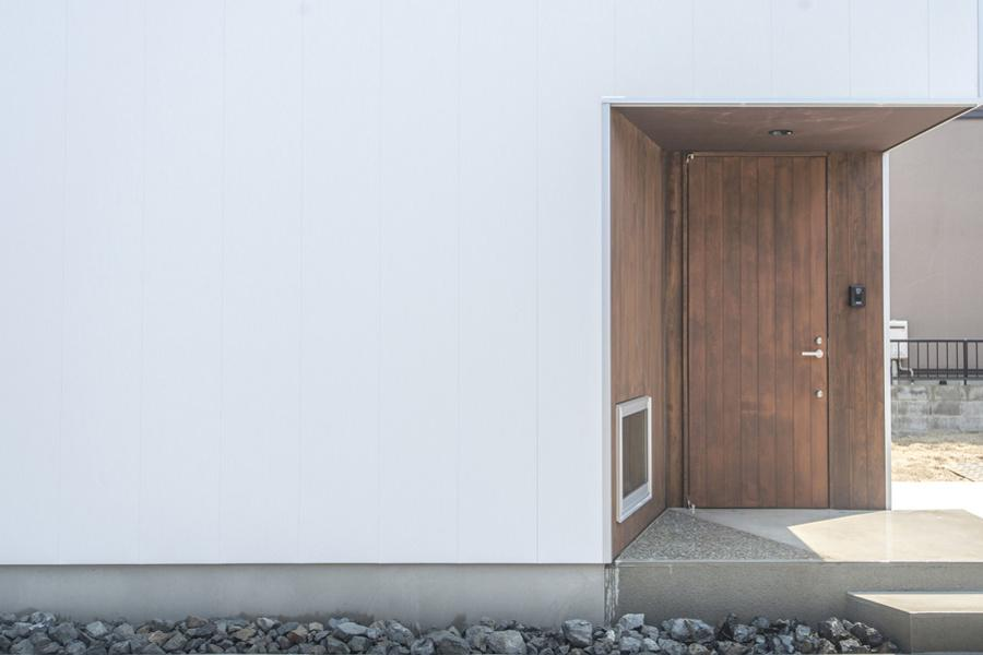 中山の家 (玄関)
