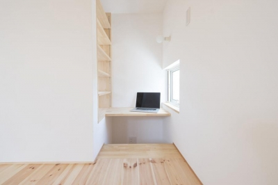 中山の家 (2階書斎スペース)