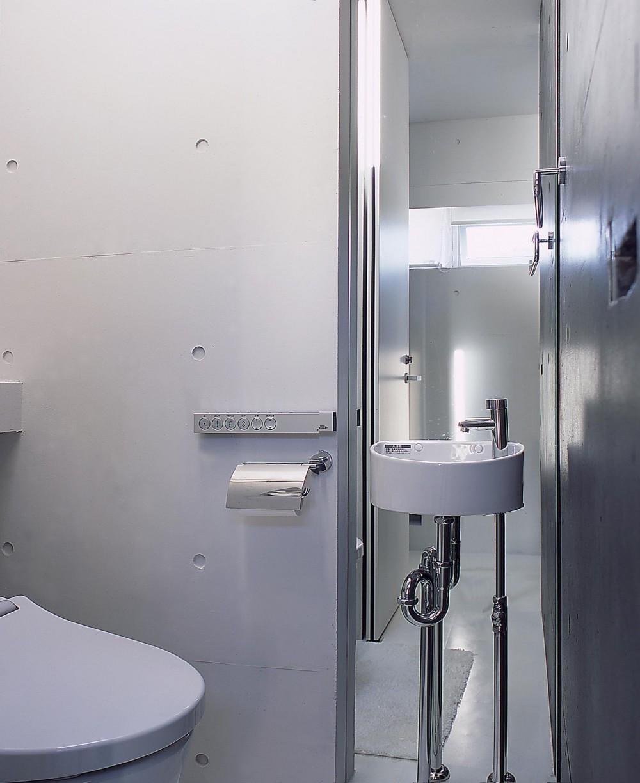 中山の住宅 (トイレ)