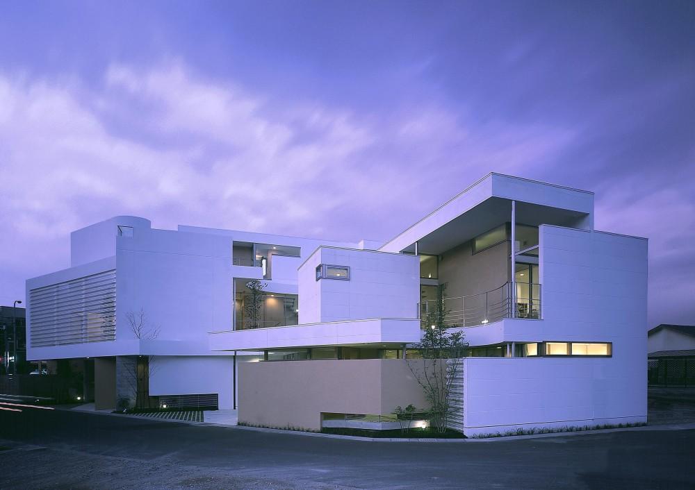 薬師の住宅 (外観夜景1)