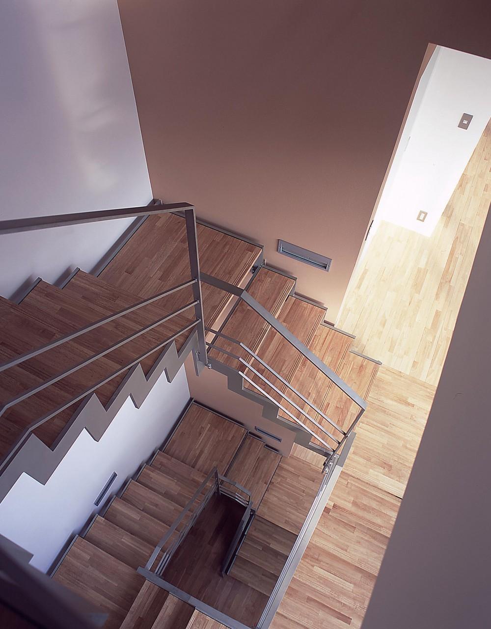 薬師の住宅 (階段)