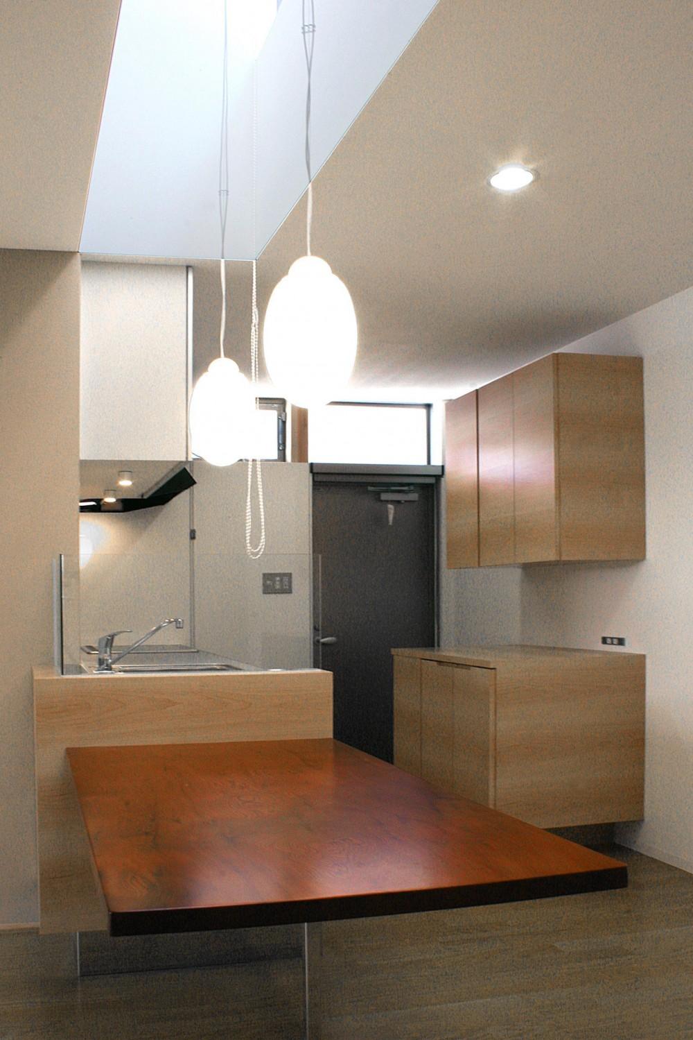 薬師の住宅 ((親世帯)ダイニングキッチン)