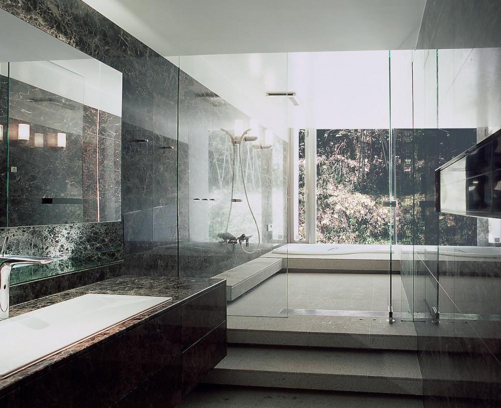 長田町の住宅 (洗面所・浴室)