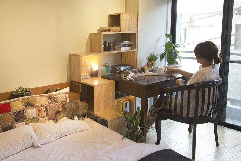 NY&〜部屋に新しいスペースを生む、人と猫のための家具ニャンド〜 (ニャンド&いろいろな家具)