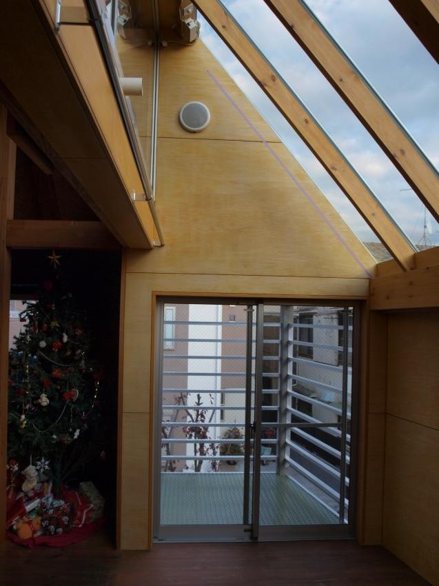 星の見えるサンルームの部屋 サンルームと増築したバルコニー