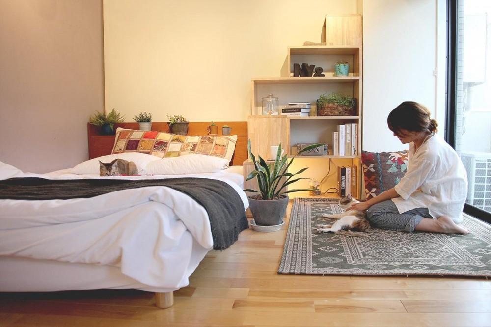 NY&〜部屋に新しいスペースを生む、人と猫のための家具ニャンド〜 (ワンルームにも大活躍)