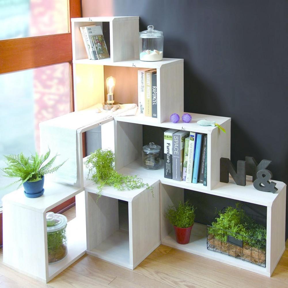 NY&〜部屋に新しいスペースを生む、人と猫のための家具ニャンド〜 (一人暮らしにも子供部屋にもぴったりのシェルフ−ROOT SHELF−)