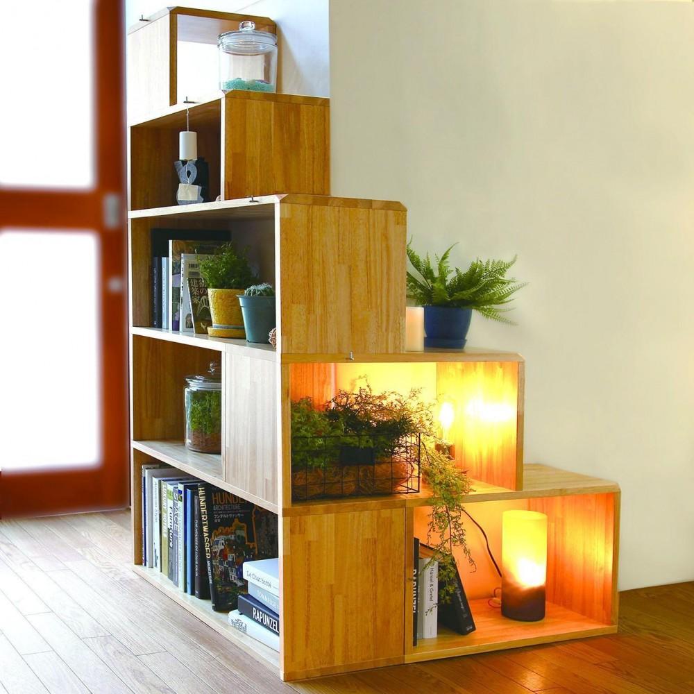 NY&〜部屋に新しいスペースを生む、人と猫のための家具ニャンド〜 (使い勝手のよいシェルフ−TREE SHELF−)
