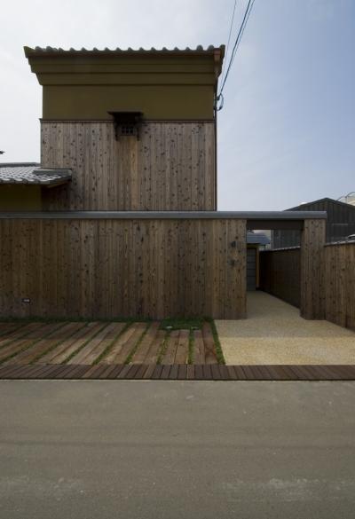 車いすで生活するバリアフリー和風住宅/地の家 (外観)