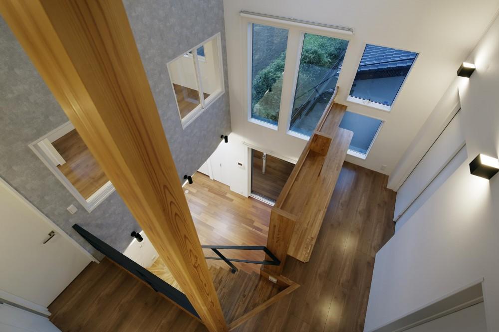 祖師谷ーY邸 (階段踊り場1)