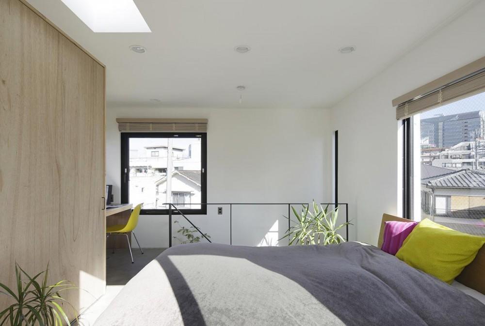 恵比寿の家 (寝室)