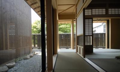和室|車いすで生活するバリアフリー和風住宅/地の家