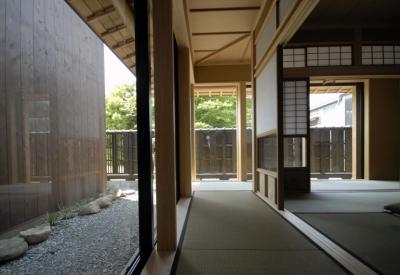 和室 (車いすで生活するバリアフリー和風住宅/地の家)