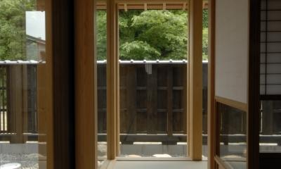 車いすで生活するバリアフリー和風住宅/地の家 (座敷)