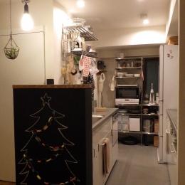 S様邸 (Kitchen)