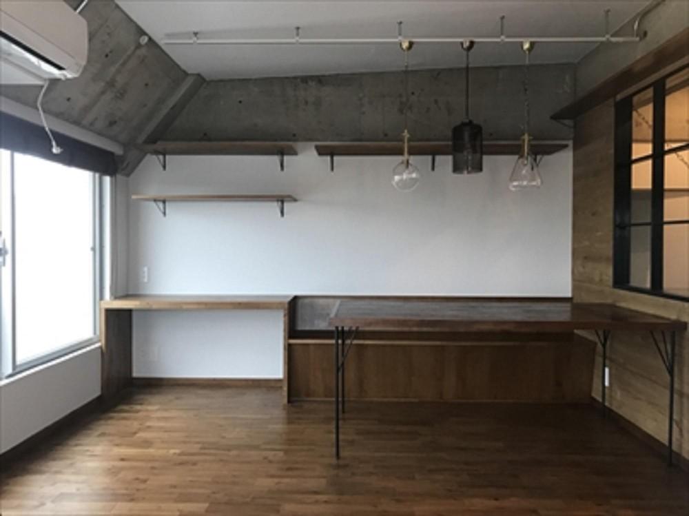 稲田堤マンションリノベーション (ダイニング)