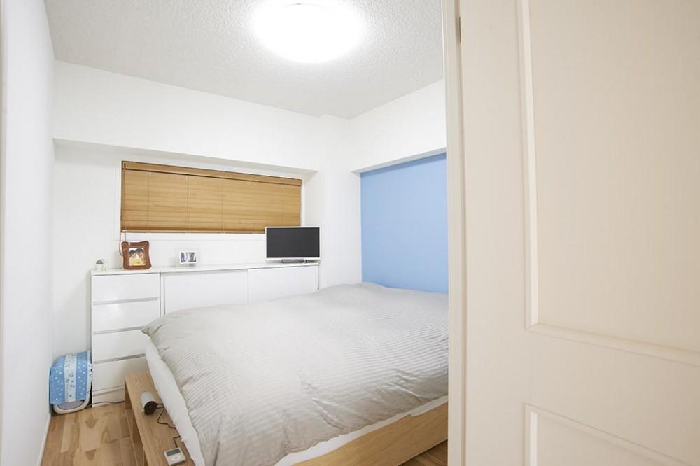 北欧と暮らす (シンプルな寝室)