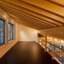 米村和夫の住宅事例「(東京都あきる野市)秋川の3段崖地の家/A棟/B棟」