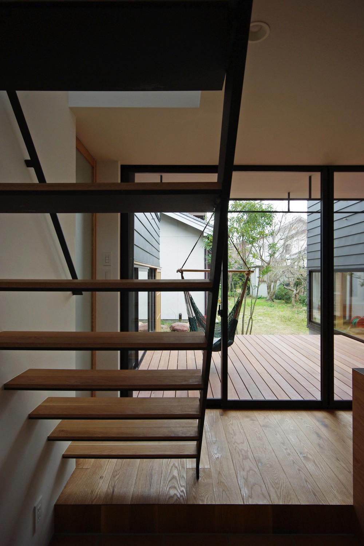 八幡の家 (階段)