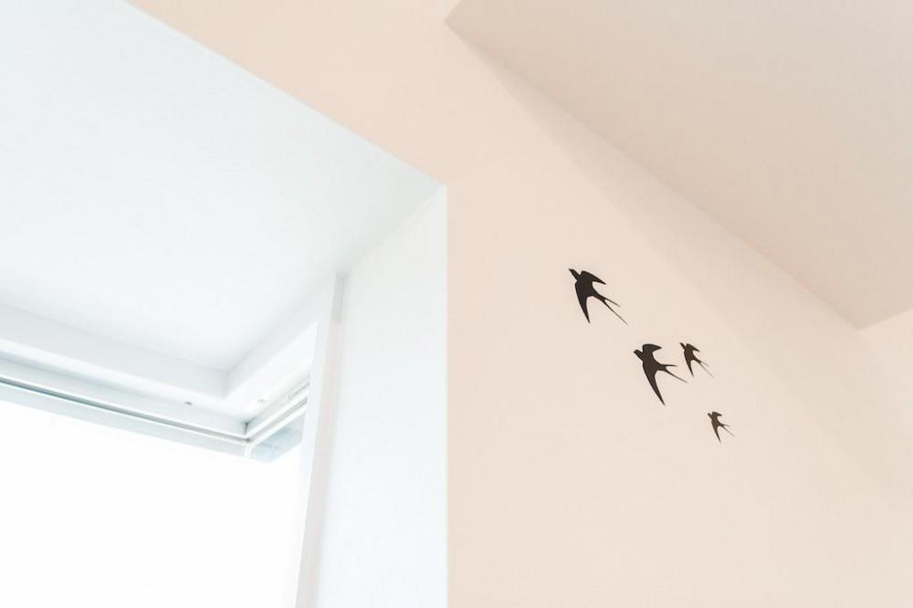 白を基調とした爽やかな空間 (Wall)
